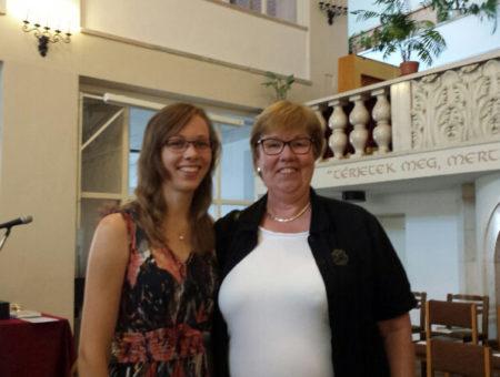 Juni 2016, Boedapest – Uitreiking MA Diploma's BTA