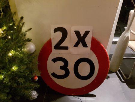 60 = (2×30) – 40 – 30 – 25